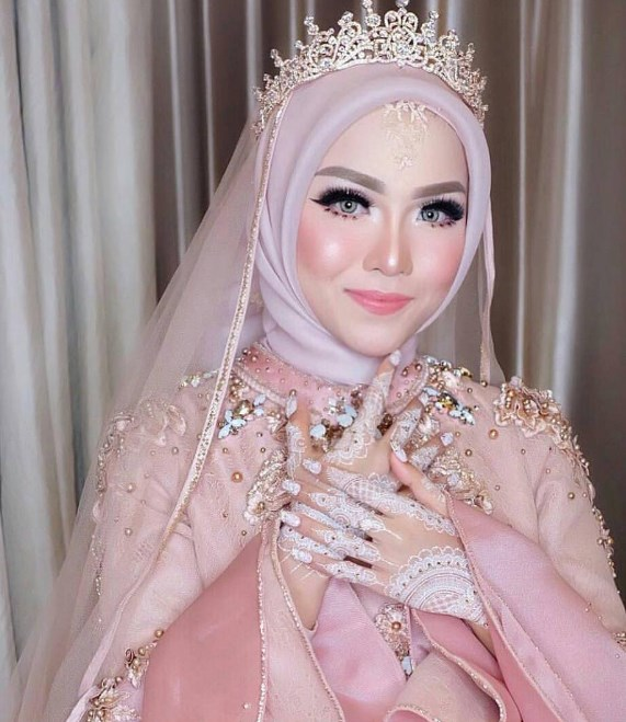 model kebaya muslim brokat 2019