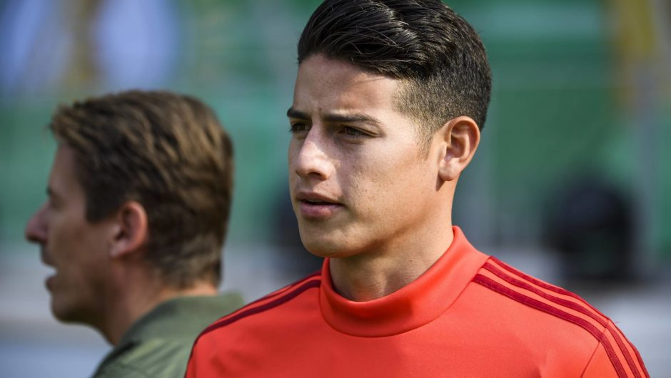 James Rodriguez Pindah ke Napoli