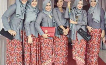 Model Kebaya Orang Gemuk Terbaru Indonesia Populer