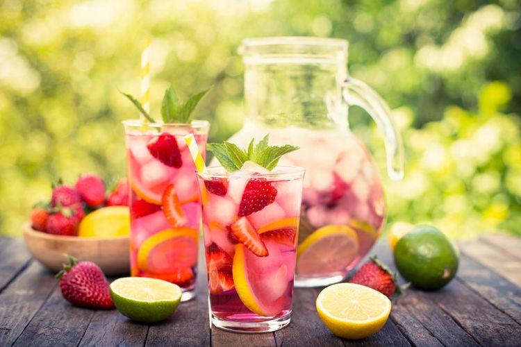 Kulit Sehat Dengan Infused Water