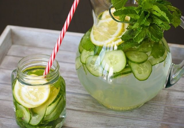 Resep Infused Water Mentimun